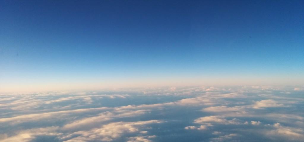 Blue Sky Over Iceland