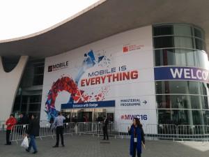 Mobile World Congress 2016 main entrance (south)